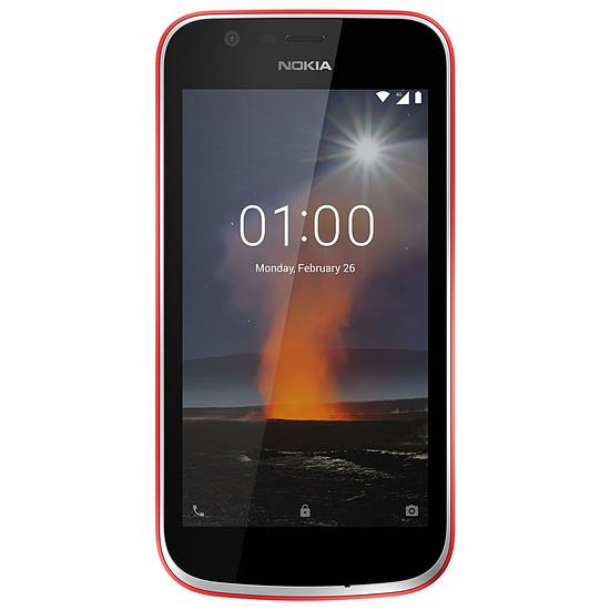Smartphone et téléphone mobile Nokia 1 (rouge)