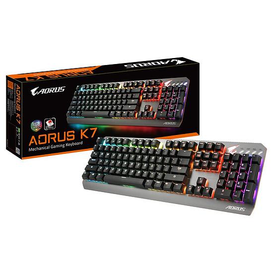 Clavier PC AORUS K7 - Cherry MX Red - Autre vue