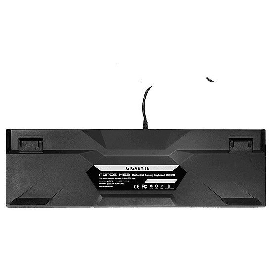 Clavier PC Gigabyte FORCE K83 - Cherry MX Red - Autre vue
