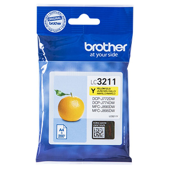 Cartouche imprimante Brother LC3211Y Jaune