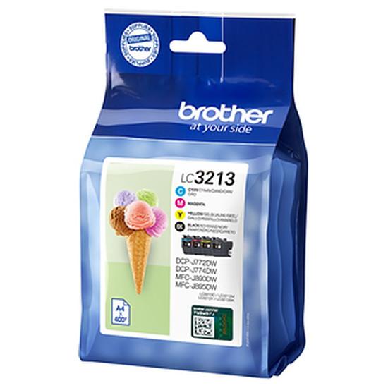 Cartouche imprimante Brother LC3213VAL Pack 4 couleurs haute capacité