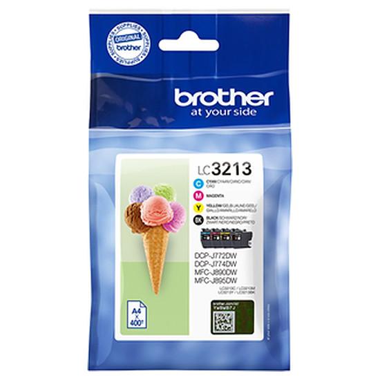 Cartouche imprimante Brother LC3213VAL Pack 4 couleurs haute capacité - Autre vue