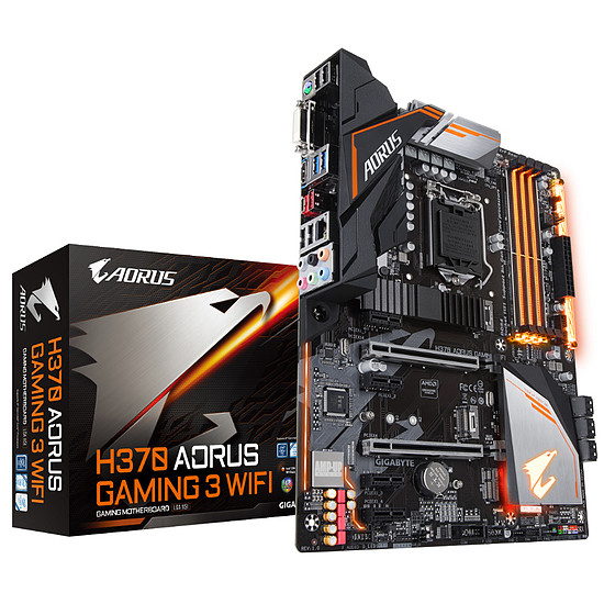 Carte mère Gigabyte H370 AORUS GAMING 3 WIFI - Occasion · Occasion