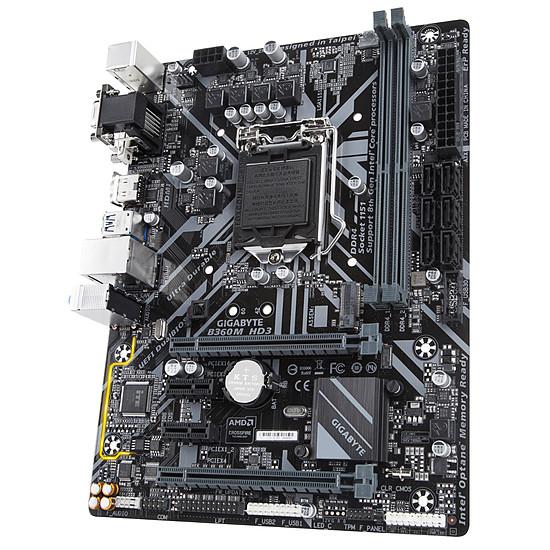 Carte mère Gigabyte B360M HD3 - Autre vue