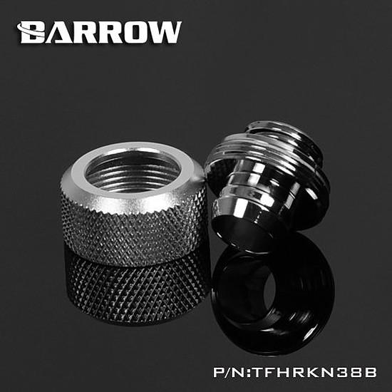 Watercooling BARROW TFHRKN38B - Embout tuyau souple 10x13mm argent - Autre vue