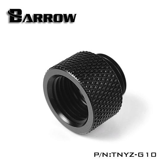Watercooling BARROW TNYZ-G10 -  Extension 10mm mâle vers femelle - Noir