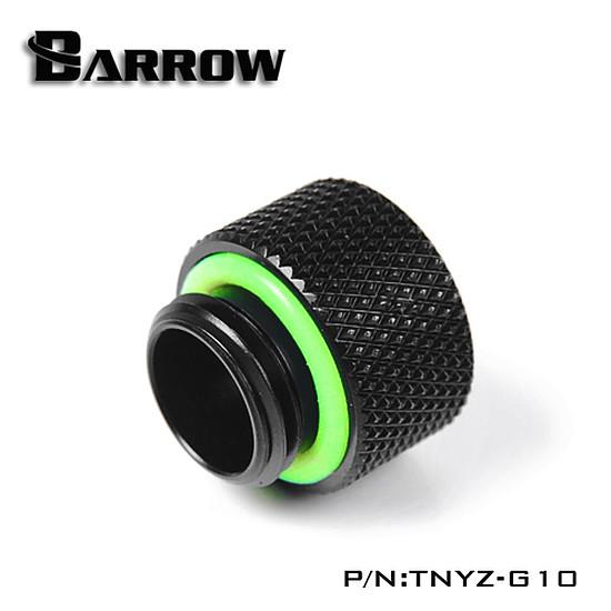 Watercooling BARROW TNYZ-G10 -  Extension 10mm mâle vers femelle - Noir - Autre vue