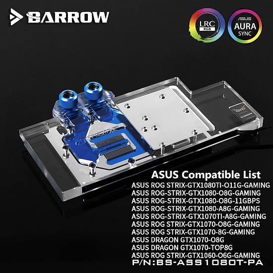 Watercooling BARROW BS-ASS1080T-PA - Waterblock pour Asus ROG STRIX - Autre vue