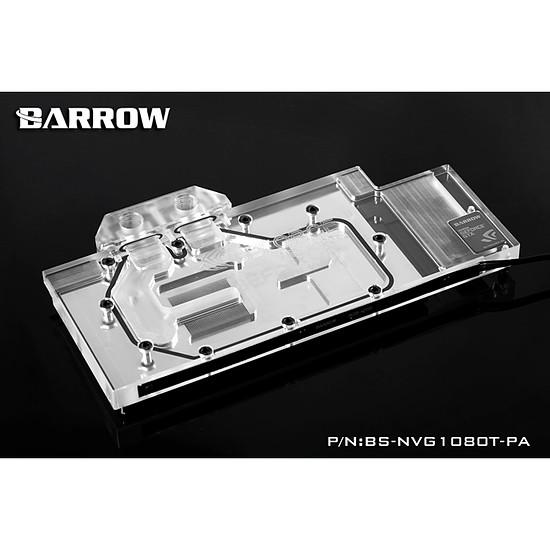 Watercooling BARROW BS-NVG1080T-PA - Waterblock pour GeForce GTX 1080TI / TITAN X / TITAN XP / 1080 / 1070 - AURORA
