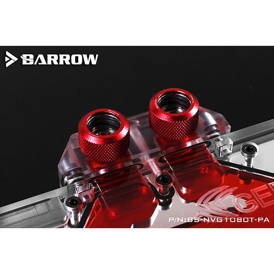 Watercooling BARROW BS-NVG1080T-PA - Waterblock pour GeForce GTX 1080TI / TITAN X / TITAN XP / 1080 / 1070 - AURORA - Autre vue