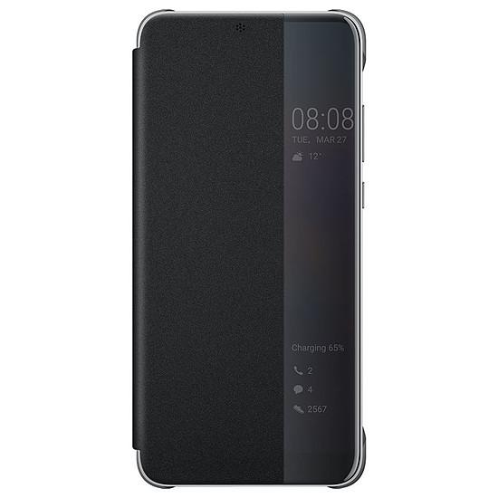 Coque et housse Huawei Etui Flip Smart View (noir) - Huawei P20 Pro