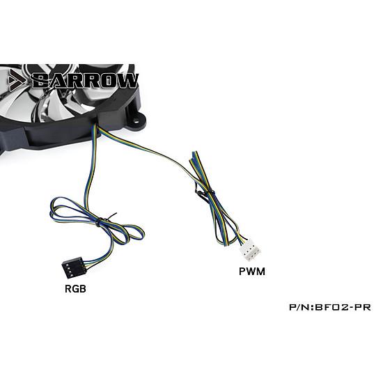 Ventilateur Boîtier BARROW BF02-PR - VENTILATEUR 120 MM RGB PWM - Autre vue