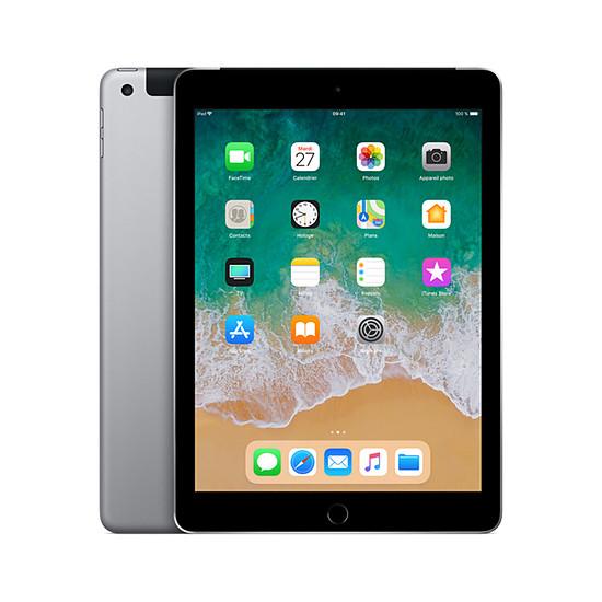 Tablette Apple iPad (2018) Wi-Fi + Cellular - 128 Go - Gris