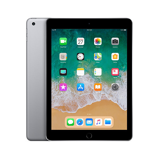 Tablette Apple iPad (2018) Wi-Fi - 128 Go - Gris Sidéral