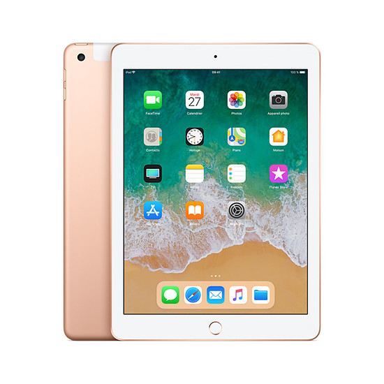 Tablette Apple iPad (2018) Wi-Fi + Cellular - 32 Go - Gold