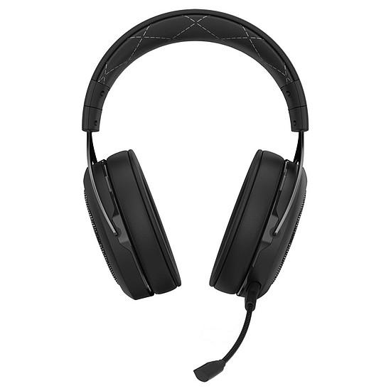 Casque micro Corsair HS70 Wireless - Noir - Autre vue