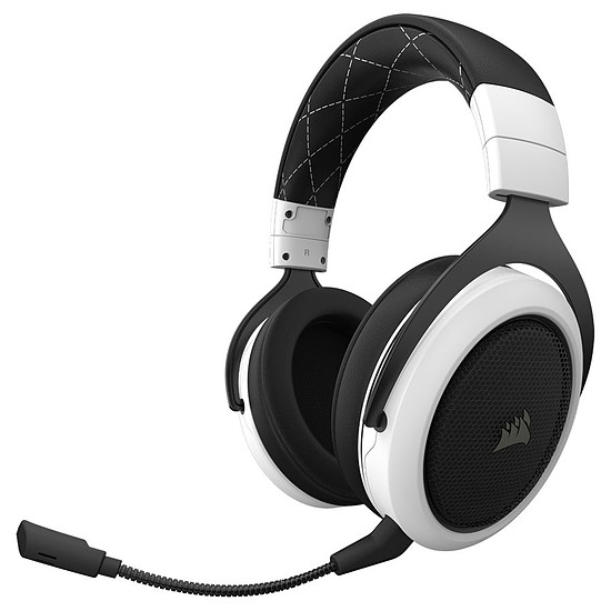 Casque micro Corsair HS70 Wireless - Blanc