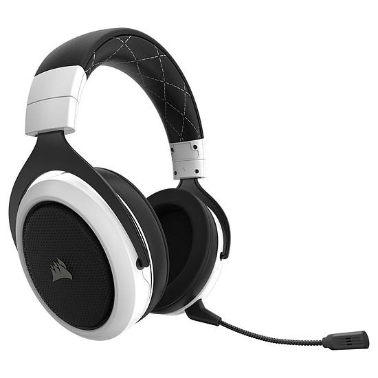 Casque micro Corsair HS70 Wireless - Blanc - Autre vue