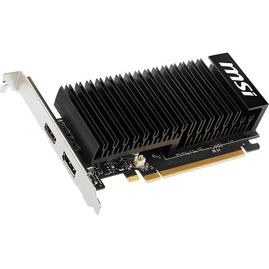 Carte graphique MSI GeForce GT 1030 LP OC - 2 Go (DDR4) - Autre vue