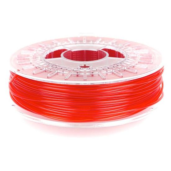 Filament 3D ColorFabb PLA - Rouge transparent 1.75 mm