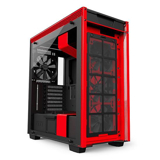 Boîtier PC NZXT H700 - Noir/Rouge - Autre vue