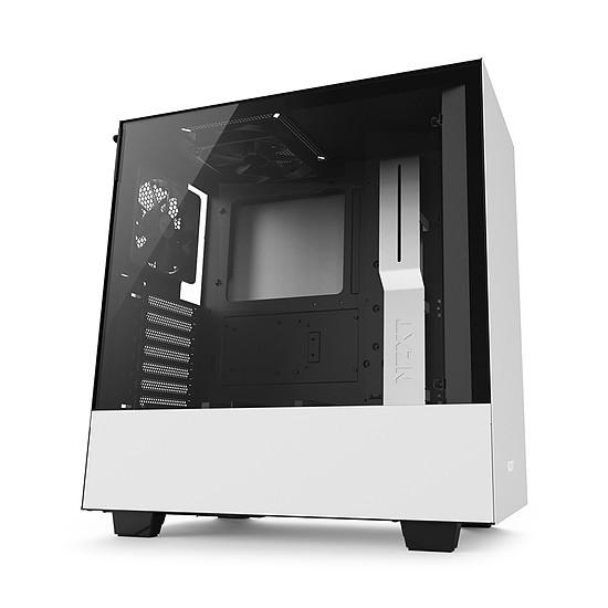 Boîtier PC NZXT H500 - Blanc