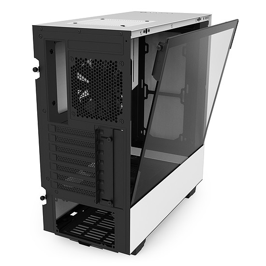 Boîtier PC NZXT H500 - Blanc - Autre vue
