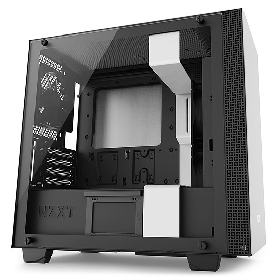 Boîtier PC NZXT H400 - Blanc