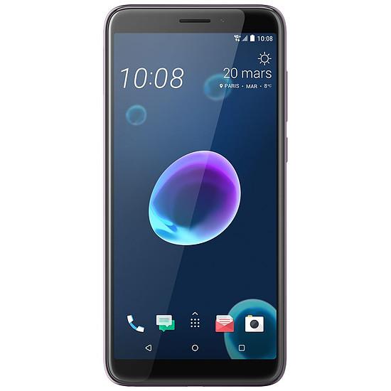 Smartphone et téléphone mobile HTC Desire 12 (argent nacré)