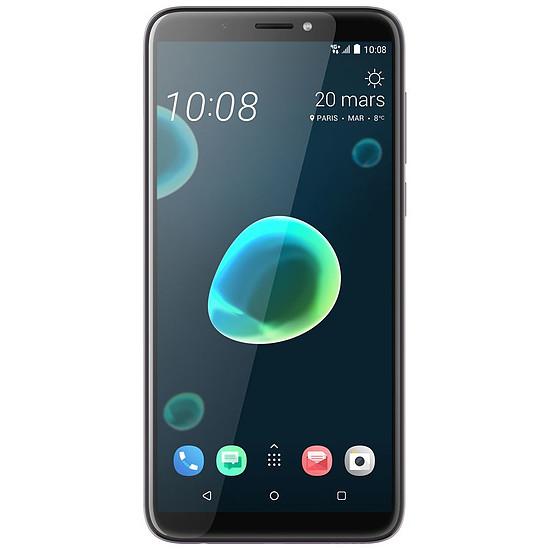 Smartphone et téléphone mobile HTC Desire 12+ (argent nacré)
