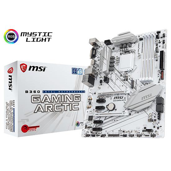 Carte mère MSI B360 GAMING ARCTIC