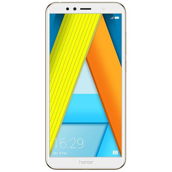 Smartphone et téléphone mobile Honor 7A (or) - 2 Go - 16 Go