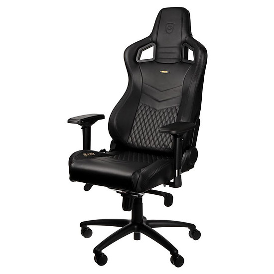 Fauteuil / Siège Gamer Noblechairs EPIC Cuir Nappa - Noir