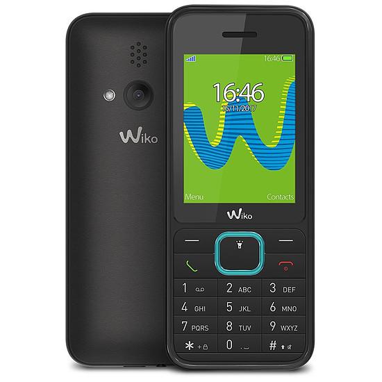 Smartphone et téléphone mobile Wiko Riff 3 (noir) - double SIM