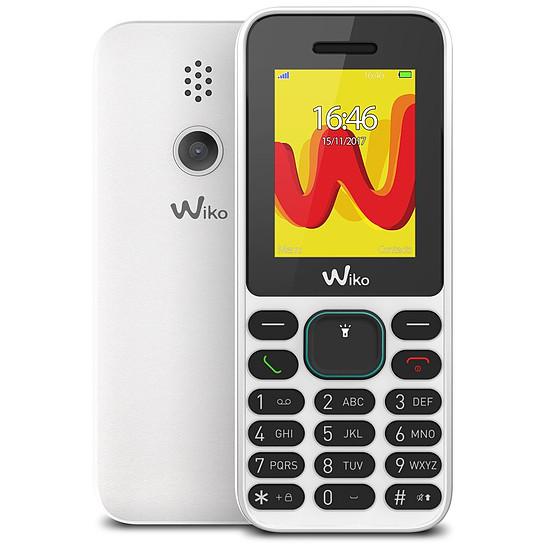 Smartphone et téléphone mobile Wiko Lubi 5 (blanc) - double SIM