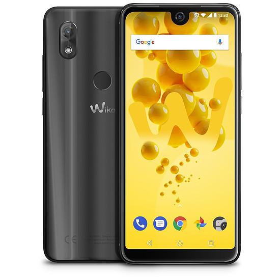Smartphone et téléphone mobile Wiko View 2 (anthracite) - 4G - 32 Go - 3 Go