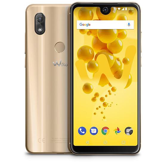 Smartphone et téléphone mobile Wiko View 2 (or) - 4G - 32 Go - 3 Go