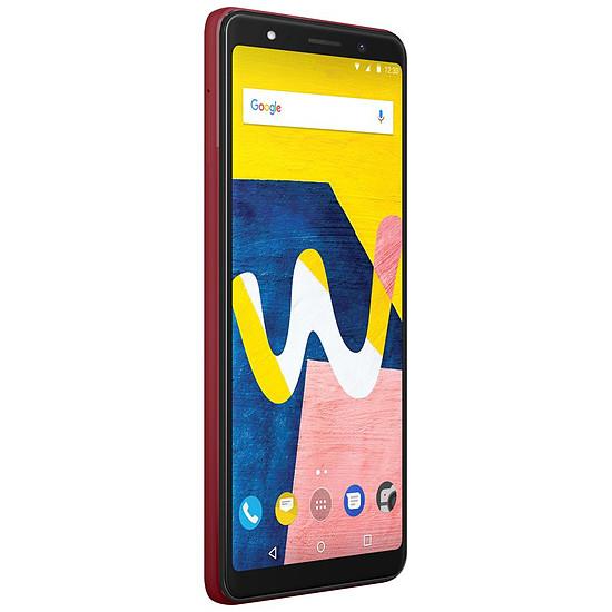 Smartphone et téléphone mobile Wiko View Lite (rouge) - 4G - 16 Go - 2 Go - Autre vue