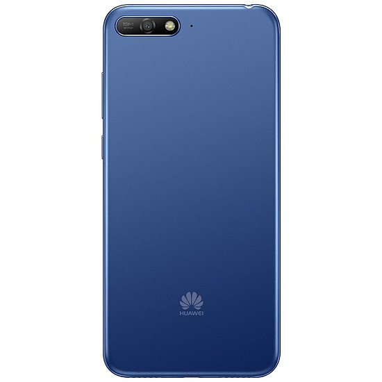 Smartphone et téléphone mobile Huawei Y6 2018 (bleu) - Autre vue