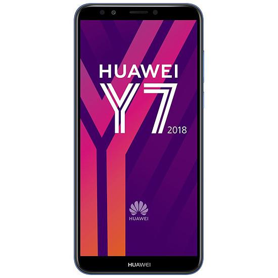 Smartphone et téléphone mobile Huawei Y7 2018 (bleu)