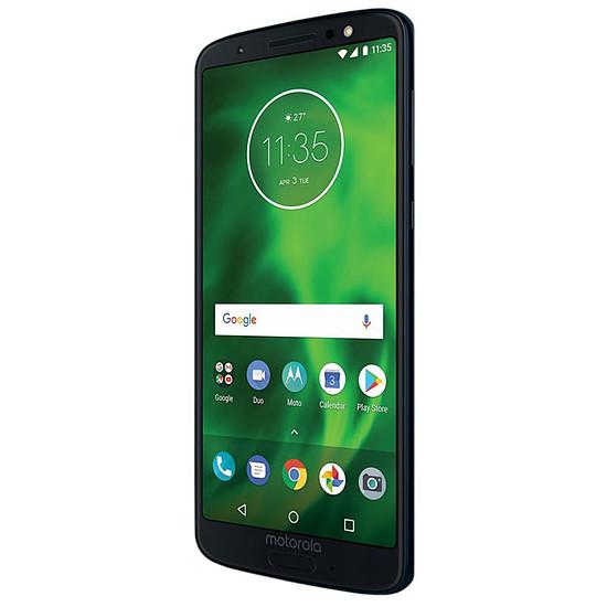 Smartphone et téléphone mobile Motorola Moto G6 (bleu indigo)