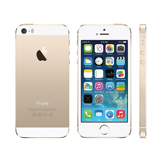 Smartphone et téléphone mobile Remade iPhone 5s (or) - 32 Go - iPhone reconditionné