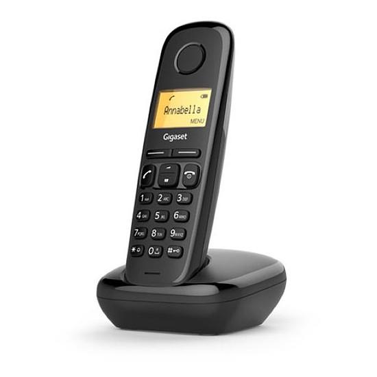 Téléphone fixe sans fil Gigaset A170 (noir) - Autre vue