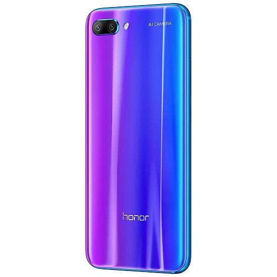Smartphone et téléphone mobile Honor 10 (bleu) - 4 Go - 64 Go - Autre vue