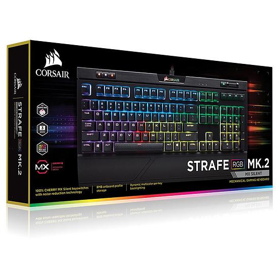 Clavier PC Corsair Strafe RGB MK.2 - Cherry MX Red - Autre vue