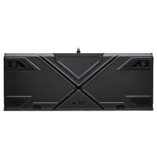 Clavier PC Corsair K70 RGB MK.2 - Cherry MX Silent - Autre vue