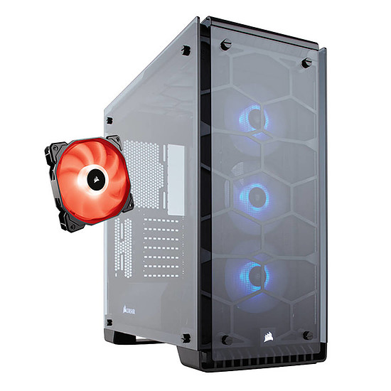 Boîtier PC Corsair 570X RGB + SP120 RGB