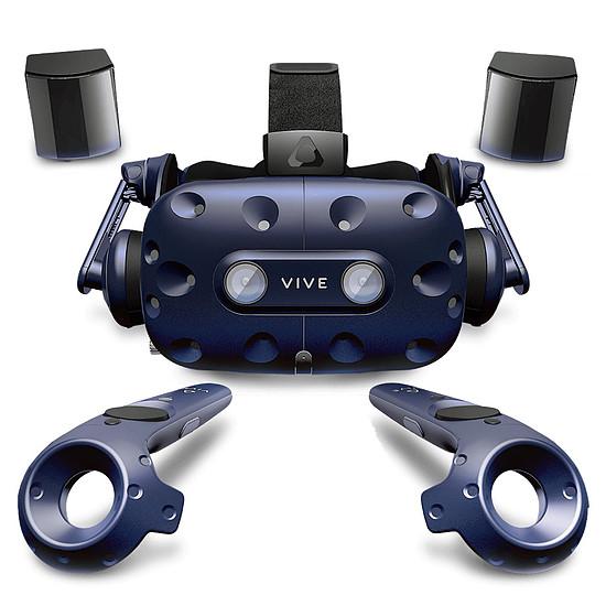 Réalité Virtuelle HTC Kit VIVE Pro + Adaptateur sans-fil