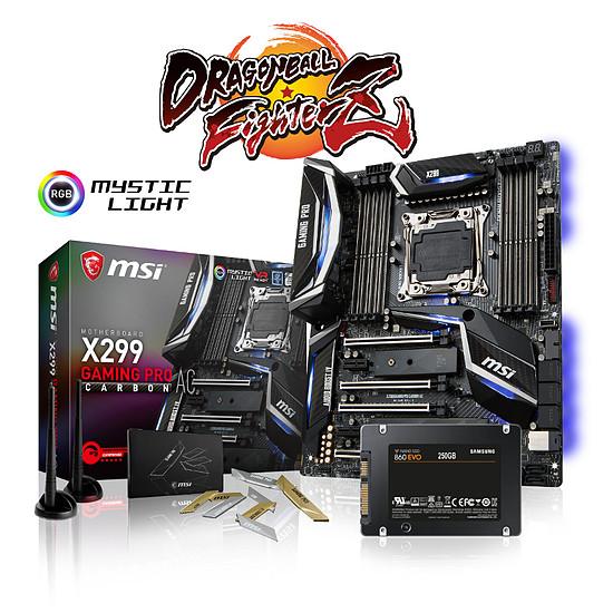 Carte mère MSI X299 GAMING PRO CARBON AC + SSD 860 EVO 250 Go
