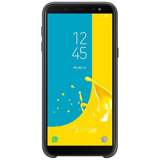 Coque et housse Samsung Coque double (noir) - Galaxy J6